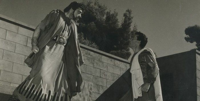 Ο ΑΛΕΚΟΣ ΑΛΕΞΑΝΔΡΑΚΗΣ ΩΣ 'ΙΠΠΟΛΥΤΟΣ' ΣΤΗΝ ΕΠΙΔΑΥΡΟ ΤΟ 1954